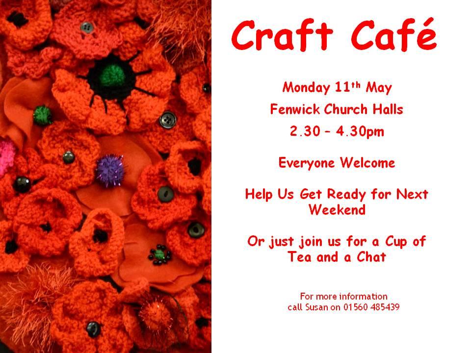 poster craft cafe final